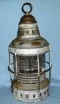 Huge Ships Anchor Lantern w/ Fresnel Lens