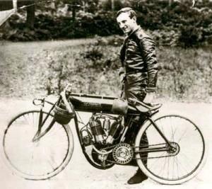 Indian's top racer, Jack DeRosier