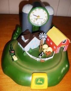 John Deere alarm clock