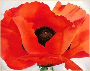 """Red Poppy"" by Georgia O'Keefe"