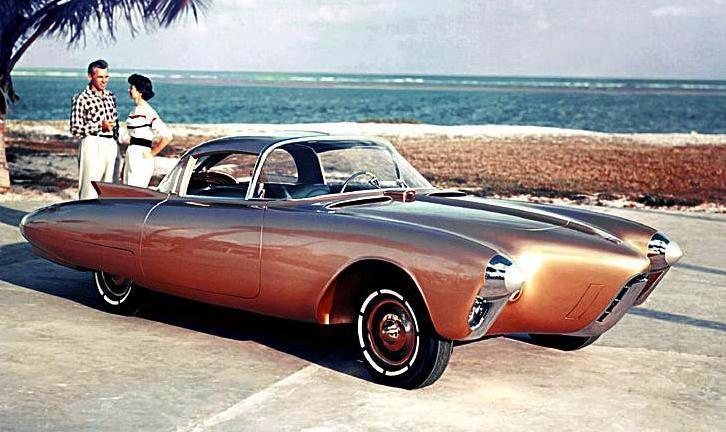 Harley Earl's 1956 Oldsmobile Golden Rocket