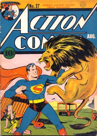 Action Comic and Superman