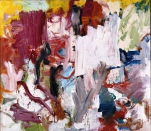 """Unititled XXV"" by Willem de Kooning"