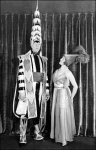 William Van Alen with his wife