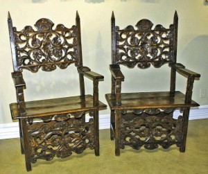 17th-century Italian chairs