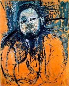 "Expressionism: ""Portrait of Diego Rivera,"" by Amedeo Modigliani"