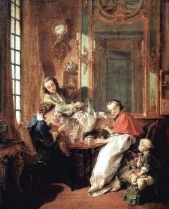 """Rococo: """"Le Déjeuner,"""" by François Boucher"""