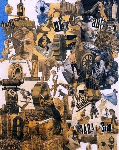 """Dadaism: """"Cut with the Dada Kitchen Knife through the Last Weimar Beer-Belly Cultural Epoch in Germany,"""" by Hannah Höch"""