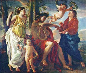 """Classicism: """"The Inspiration of a Poet,"""" by Nicholas Poussin"""