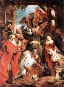 """Baroque: """"The Adoration of the Magi,"""" by Peter Paul Rubens"""