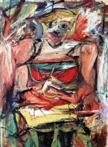 """Abstract Expressionism: """"Woman V,"""" by Willem de Kooning"""