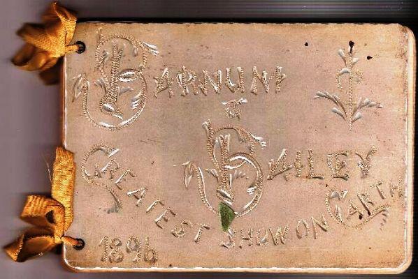 Barnum And Bailey. Barnum amp; Bailey 1896 Executive