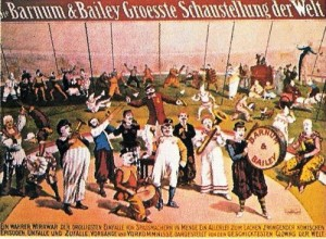 1900 – Barnum & Bailey; Clown Band – German Text