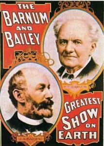1897 – Barnum & Bailey – Portraits of Barnum & Bailey