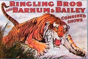 Ringling Bros. and Barnum & Bailey; Leaping Tiger