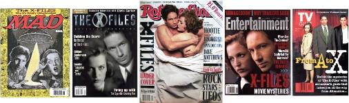 "X-Files"" magazines"