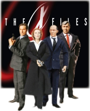 Sideshow Collectibles' Mulder, Scully, Skinner & Cigarette Smoking Man figures