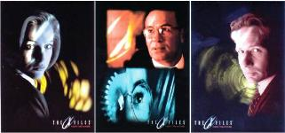 "X-Files: Fight the Future"" cards from Topps"