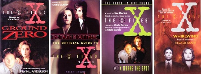 "X-Files"" books"