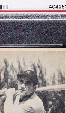 Bowman 1948 Yogi Berra Card