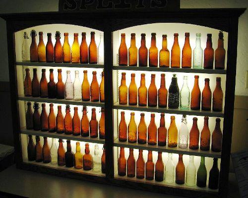 Western beer bottles
