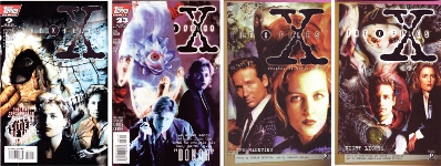 "X-Files"" comics and trade paperbacks"