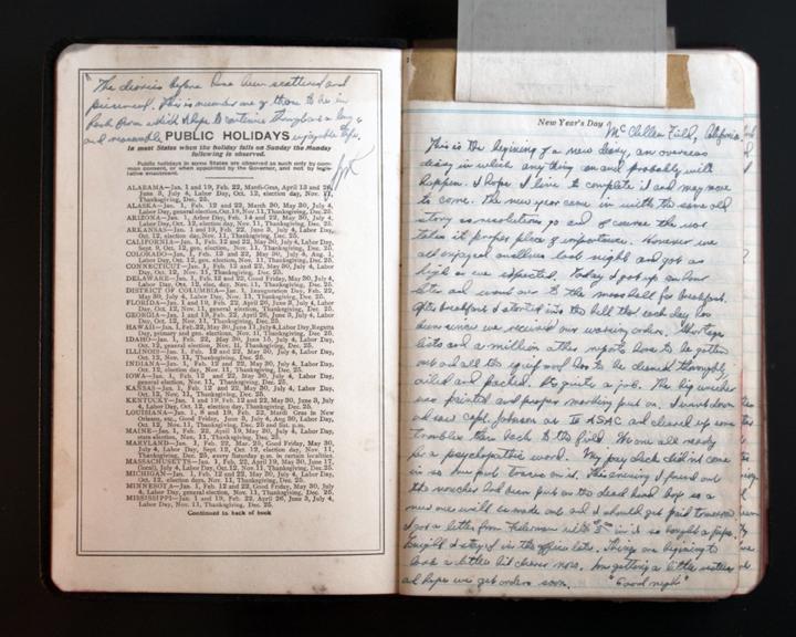 Lt. Reichard's Diary