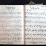 January 9, 1943 Diary Page (click to enlarge)