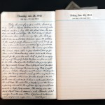 January 28, 1943 Diary Page  (click to enlarge)