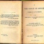 "1859 edition of ""Origin of the Species"""