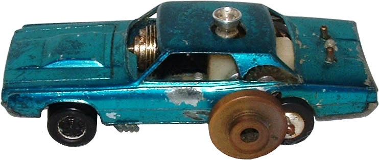Gasoline-powered Hot Wheels prototype (courtesy Bruce Pascal)