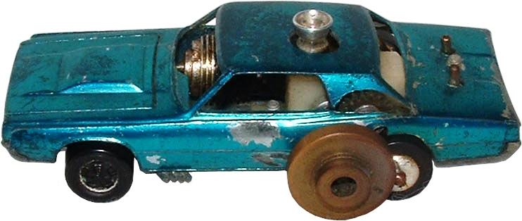 Gasoline-powered Hot Wheels prototype (courtesy Bruce Pascal)