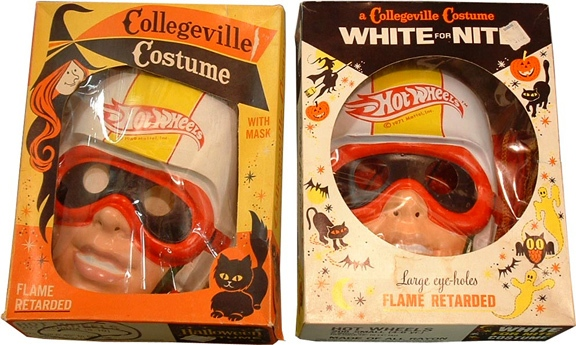 Hot Wheels Halloween costumes (courtesy Bruce Pascal)
