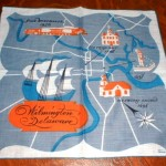 Keefe's Delaware hanky, also available in several color schemes, is fairly easy to find around Delaware.