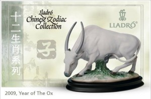 Chinese New Year Ox by Lladro
