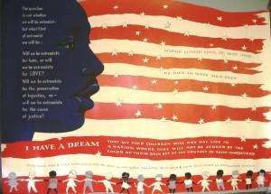Memorial flag poster