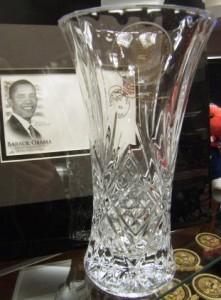Obama vase
