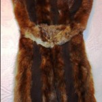To attach sable pelts to a coat, I threaded a huge leather needle with quadruple thread and, my fingers aching, I kept sewing until the job was done.