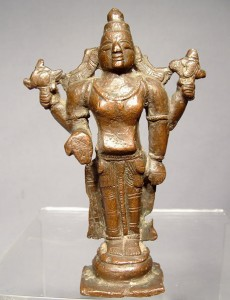 17th-century statue of Vishnu
