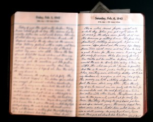 February 6, 1943 Diary Page