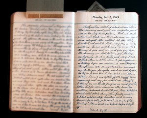 February 8, 1943 Diary Page