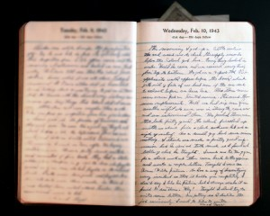 February 10, 1943 Diary Page