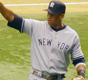 Alex Rodriguez, Yankees third baseman