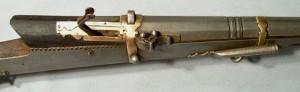 Matchlock gun closeup