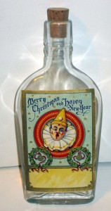 Clown Whiskey flask
