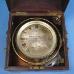 A marine chronometer by D. McGregor & Co.