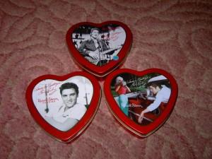 Elvis Presley tins