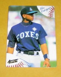Another A-Rod Foxes card