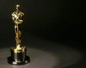 The Academy Award of Merit, otherwise universally known as the Oscar.