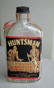 Huntsman Whiskey bottle